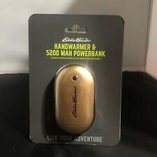 Eddie Bauer Handwarmer & 5200 MAH Powerbank NEW Sealed Unisex