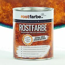 Rostfarbe 500ml Echte Rost Farbe Rosteffekt Rostfarbe Rat Look Industrial Style