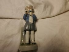 """Royal Copenhagen """"March- Girl with Flowers"""" Figurine"""