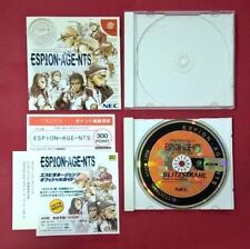 Espion-Age-nts - SEGA - DC - DREAMCAST - USADO - MUY BUEN ESTADO ( japonés )