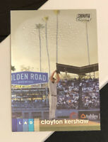 2020 Topps Stadium Club Chrome Clayton Kershaw #87 Los Angeles Dodgers
