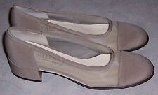 PALOMA for Neiman Marcus NEW Beige Heels Pumps Womens Slip On Shoes Sz 8AA