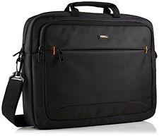 17 Inch Laptop Computer Bag Case Black Padded Nylon Briefcase