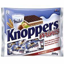 60 x Knoppers Minis (Milk-Hazelnut-Chocolate-Waffle)  600g / 1.32lbs / 21.16oz