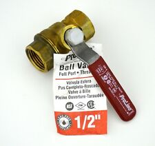 ProLine Lead Free 1/2 Inch Full Port 600WOG NPT Female Threaded Brass Ball Valve