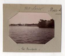 PHOTO - PORT LOUIS - Les Remparts Bretagne Morbihan - Vers 1900