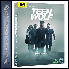TEEN WOLF - COMPLETE SEASON 4  *BRAND NEW DVD **