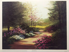 Winding Path by Lene Alston Casey Art Print 13x17 Poster Out of Print Last One