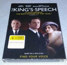 The Kings Speech (DVD, 2011) brand new sealed