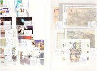 Israel Sammlung im Einsteckbuch 55 Audgaben postfrisch