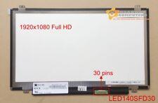 14.0 FULL HD SLIM LED SCREEN 30PIN  for DELL LATITUDE E7450 1920X1080