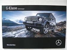 Mercedes-Benz - G-Klasse - Prospekt Brochure 05.2015