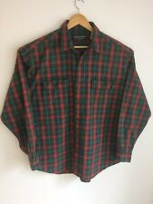 Abercrombie & Fitch heavy cotton check Shirt size XL workwear over-shirt