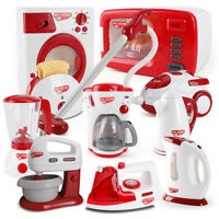 Christmas Children Gift Play Kitchen Home Appliances Kids Pretend Toy Cooking