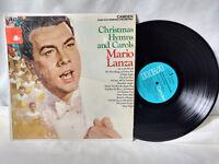 Mario Lanza LP Christmas Hymns and Carols RCA-Camden 777 Xmas VG++