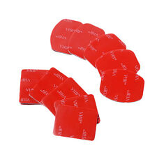 Portable 10pcs Helmet Flat Curved 3M Adhesive Pads Mount for Gopro Hero 1 2 3