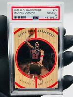 1998-99 MICHAEL JORDAN Upper Deck Hardcourt PSA 10 Gem Mint #23
