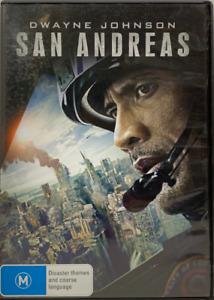DVD - San Andreas - Dwayne Johnson - FREE POST #P1