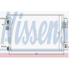 Nissens Kondensator, Klimaanlage Ford C-Max Ii,Grand C-Max 940182 Ford
