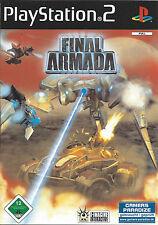 FINAL ARMADA for Playstation 2 PS2 - with box & manual - PAL