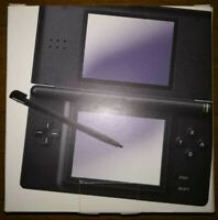 Nintendo DS Lite Game Console Jet Black with box from Japan [New] #B01563