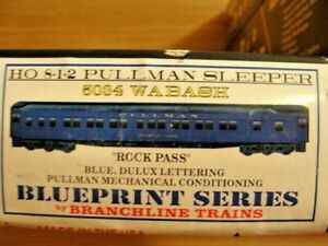 HO scale 5034 Rock Pass Branchline Blueprint Series 10-1-2 Pullman Sleeper