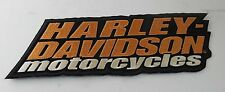 Harley Davidson Motorcycles Emblem Patch