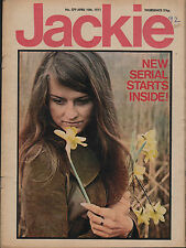 Jackie Magazine 10 April 1971 No.379    Timothy Dalton    Edison Lighthouse