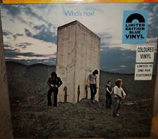 The Who - Who�€™s Next  Blue Vinyl LP BLACK FRIDAY 2018 NEW!