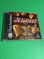 🔥 SONY PS1 PlayStation One PSX 🔥 SCRABBLE 🔥 💯 COMPLETE WORKING GAME FUN!