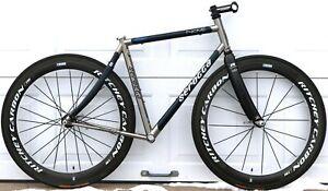Serotta Nove Titanium & Carbon - USA MADE - 50 / 52cm Road Bike Frameset Ottrott