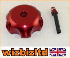 Tapones de combustible color principal rojo para motos Honda