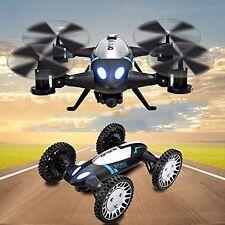 Lishitoys L6055 Auto + Drohne 2in1 RC Quadrocopter Elektro-Hubschrauber schwarz