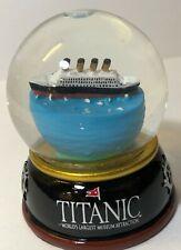 "Titanic Collectable Warner Museum Snowglobe 3.5"" / 65mm Snow Globe"