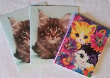 Kittens 2-pocket folders Get 2! by Class Act And notebook by Lisa Frank Kitty