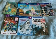 Step Into Reading Step 3 Grades 2-3 Lot of 7 Assorted Books