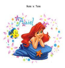 DIY Life Style Iron-on Sticker (8 x 7cm) is0119 Disney Little Mermaid Ariel