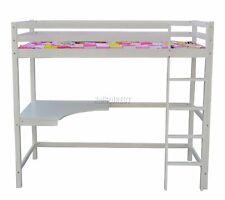 Westwood Children Wooden Frame Single 3FT Bunk Bed - White