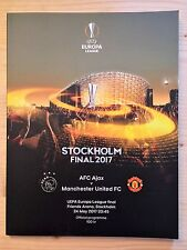 More details for manchester united v ajax /juventus v real madrid europa & champions league final