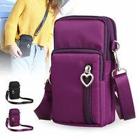 Mini Women Cross body Wallet Purse Coin Cell Phone Bag Mobile Pouch Shoulder Bag