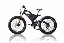 Fat E-bike Schwarz bafang 250W Voll Federung 48V11,6Ah