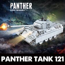 990Pcs Military German Panther 1 Tank Building Blocks Legoed Army WW2 War WOT