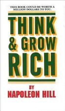 Think and Grow Rich book by Napoleon Hill a paperback book FREE SHIPPING