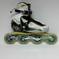 Fila Nine 90 green/yellow Marathon Damen Speedskate  Inliner Skates Gr. 38