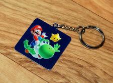 Super Mario Galaxy 2 Rare Promo Keychain Keyring Nintendo 2010 Wii / Wii U Yoshi
