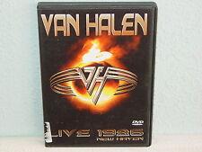 """*****DVD-VAN HALEN""""LIVE 1986 NEW HAVEN""""-2004 Falcon Neue Medien*****"""