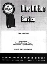 Farmall International Hydraulic Trouble Service Manual