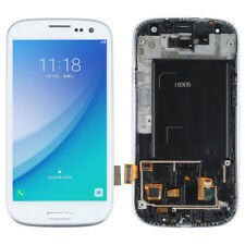Full LCD Touch Screen Glass Digitizer Frame Assembly For Samsung Galaxy S3 i9305