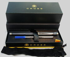 SALE! Cross Townsend Titanium Metallic Black Rollerball Pen+23k Appts #585 USA