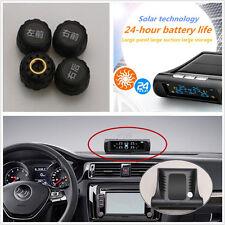 Autos Solar Wireless TPMS Tire Tyre Pressure Monitor Tool & External Sensors Kit